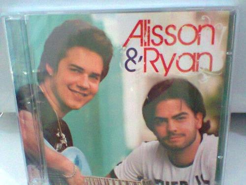 cd alisson & ryan / alisson & ryan = lacrado =(frete grátis)