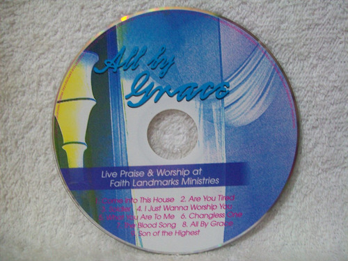 cd all by grace- live praise & worship
