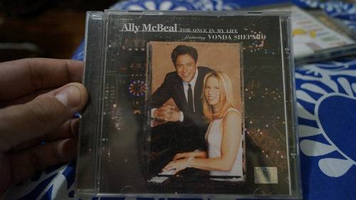 cd ally mcbeal for once in my life featuring vonda shepard