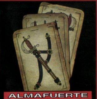 cd almafuerte - almafuerte naipes ( eshop big bang rock )