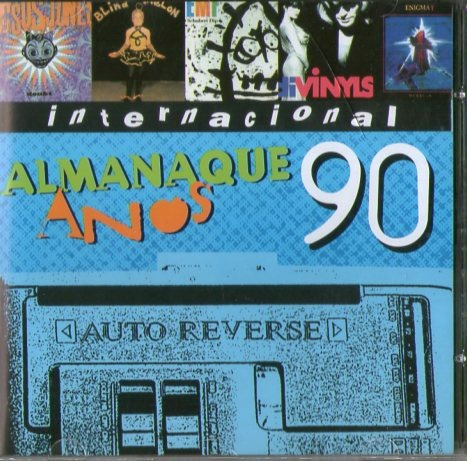 cd almanaque anos 90 - internacional - novo***