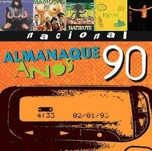 cd-almanaque anos 90-nacional-lacrado de fabrica