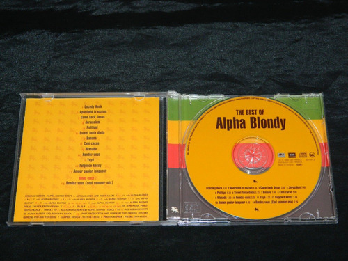 cd alpha blondy the best of