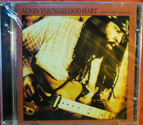cd alvin youngblood hart start with the soul lacrad rock pop