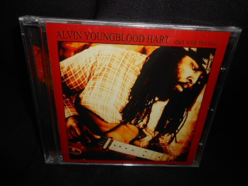 cd alvin youngblood / start with  -lacrado--  (frete grátis)