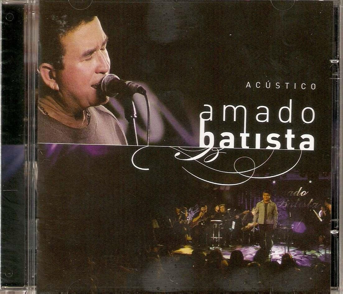 Cd Amado Batista - Acústico - Novo*** - R$ 20,00 em