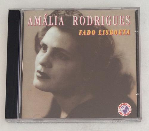 cd amália rodrigues ( fado lisboeta) hbs