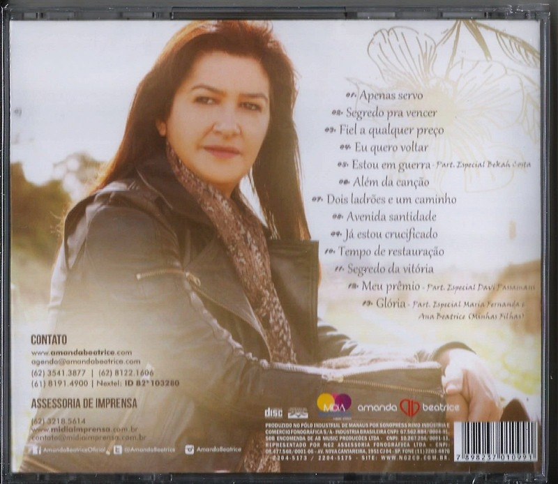 CD AMANDA VENCER PARA SEGREDO BAIXAR DE BEATRICE