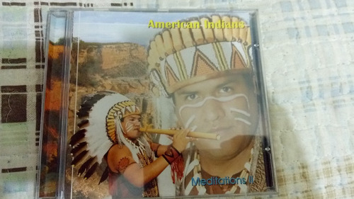 cd american indians - meditations 2