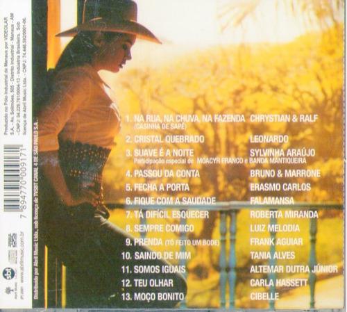 cd amor e ódio - trilha sonora  nacional - novo***