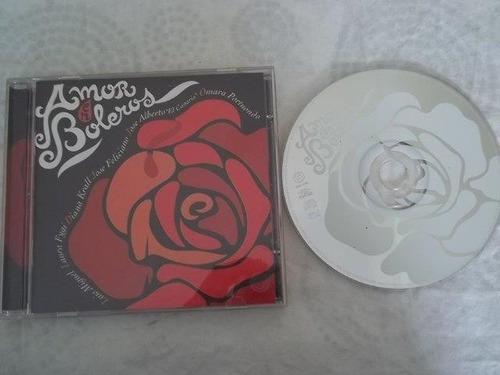 cd - amor en boleros - coletanea musica latina