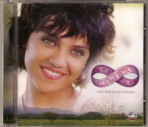 cd amor eterno amor - internacional ( t.s.n. ) - novo***