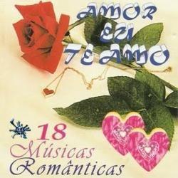 cd amor eu te amo - 18 musicas romanticas original lacrado