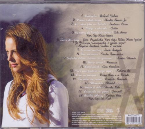 cd amor à vida - trilha sonora nacional - novo***