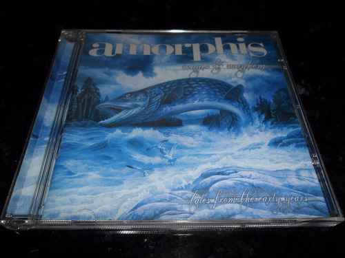 cd amorphis magic & mayhem c/ 1 bonus track