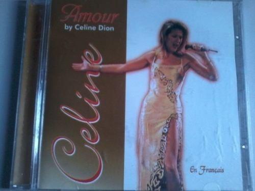 cd-amour by celine dion-en français-em otimo estado