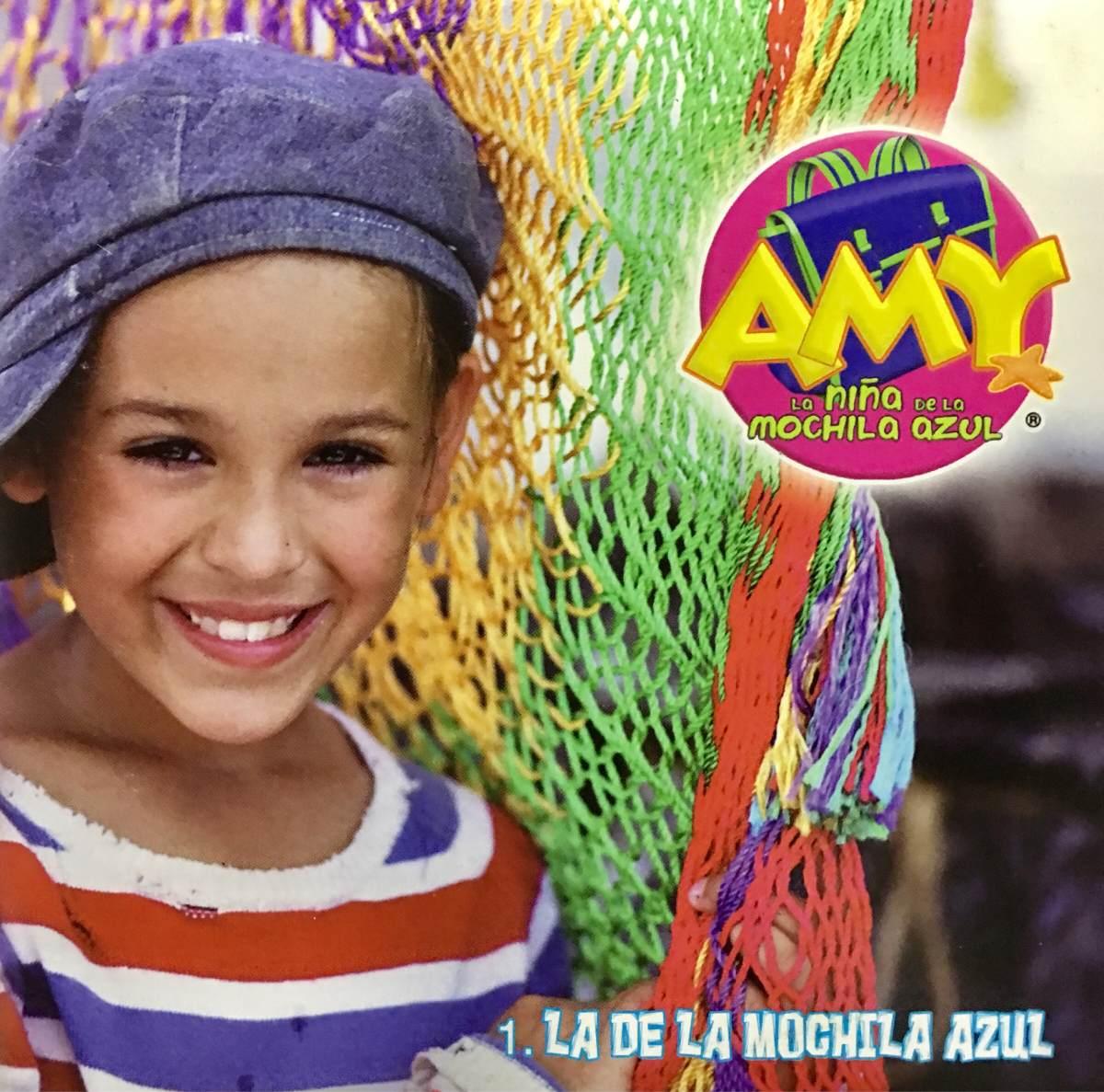 Amy A Mochila Azul cd amy la niña de la mochila azul promo usado - danna paola - $ 1,299.99