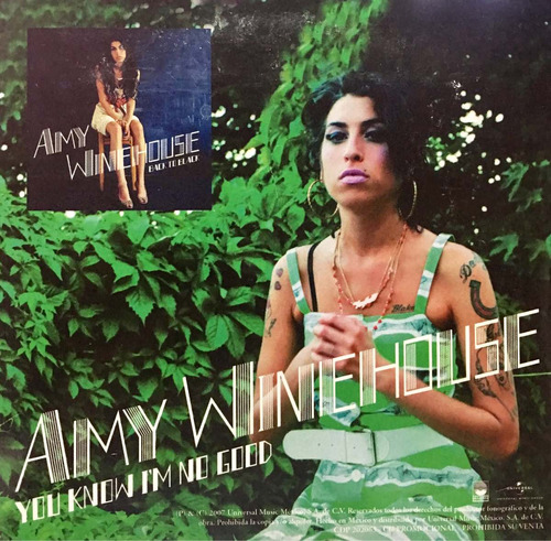 cd amy winehouse y rihanna promo usado