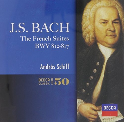 cd : andras schiff - j.s.bach: french suites (super-high...