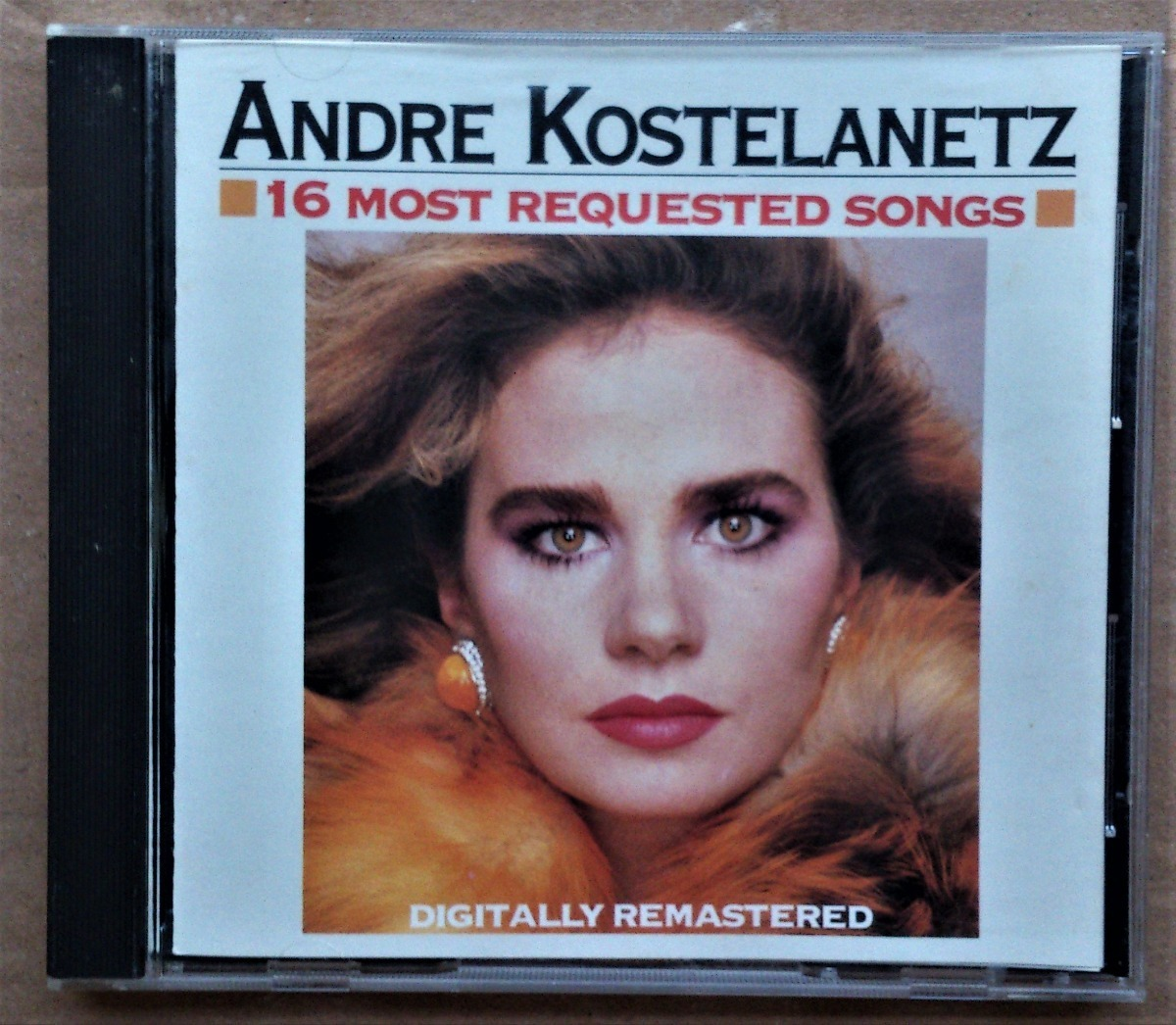 Cd Andre Kostelanetz 16 Most Requested Songs Importado R 22