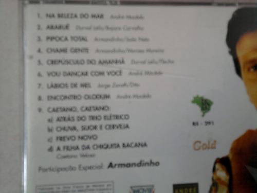 cd andré macedo 1997 part. armandinho e osmar macedo + trio