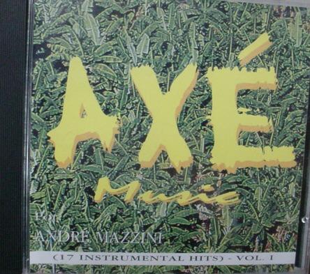 cd  andre mazzini  -  axé  instrumental  - b66