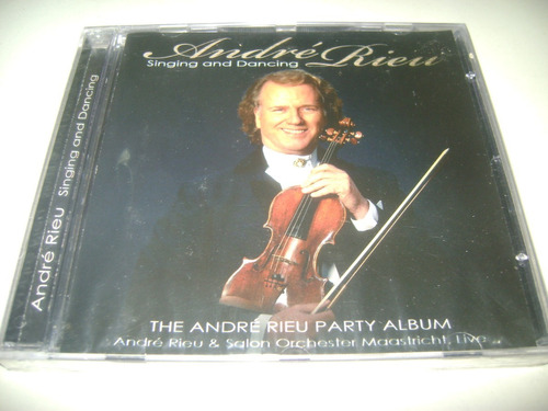 cd andré riem singing and dancing 1 original !