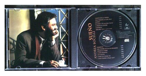cd - andrea bocelli - sueño - 1999 - original