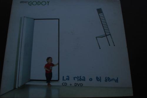 cd andres godoy la risa y el send cd+dvd