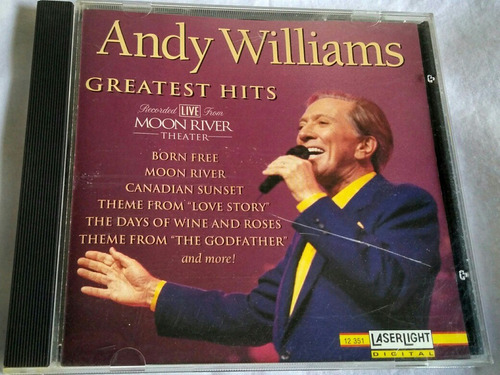 cd andy williams greatest hits