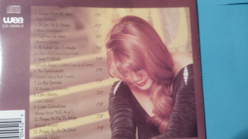 cd angela carrasco una produccion de juan gabriel 1995 mdd