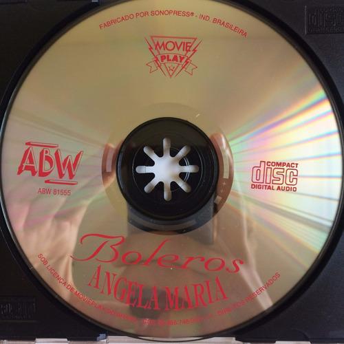 cd angela maria ( interpreta boleros ) hbs