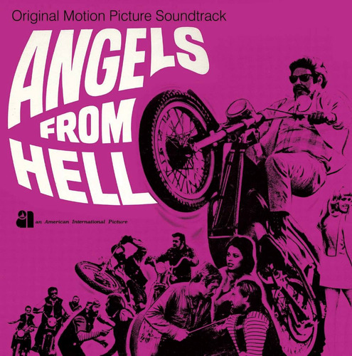 cd - angels from hell - trilha sonora - psicodelico