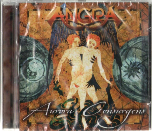 cd angra - aurora consurgens - novo!! carta registrada