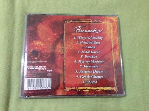 cd angra fireworks 1998 autografado