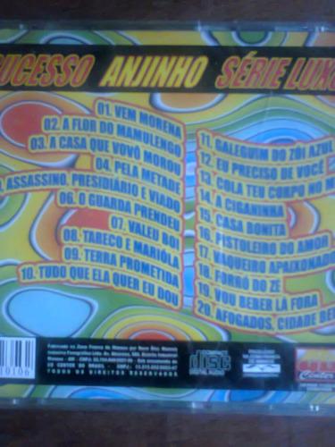 cd anjinho dos teclados só sucesso