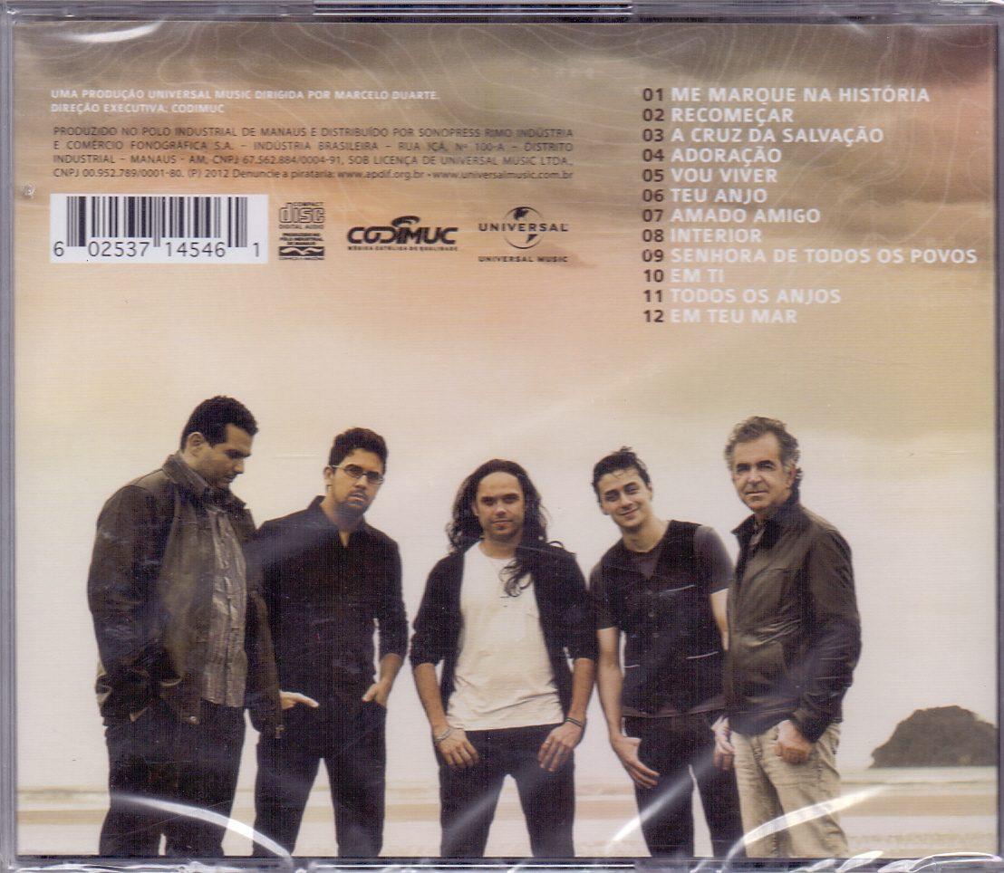 novo cd anjos de resgate marcados pelo amor