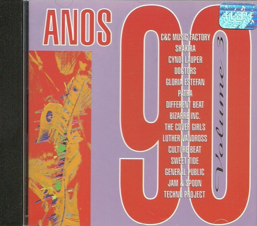 cd anos 90 volume 3