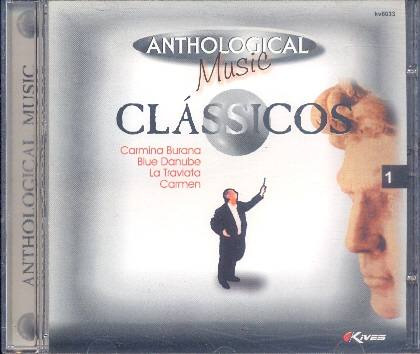 cd anthological music - clássicos