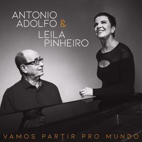 Cd Antonio Adolfo & Leila Pinheiro Vamos Partir Pro Mundo