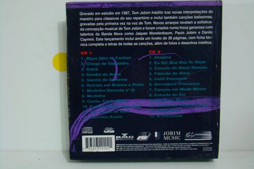 cd - antonio carlos jobim - inedito - duplo