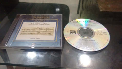cd antonio vivaldi famous concertos en formato cd
