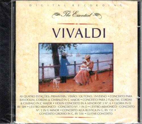 cd antonio vivaldi - the essential