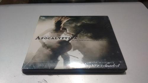 cd apocalyptica live in leipzig en formato cd,excelente