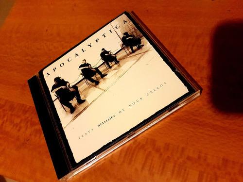 cd apocalyptica - plays metallica by four cellos -importado-