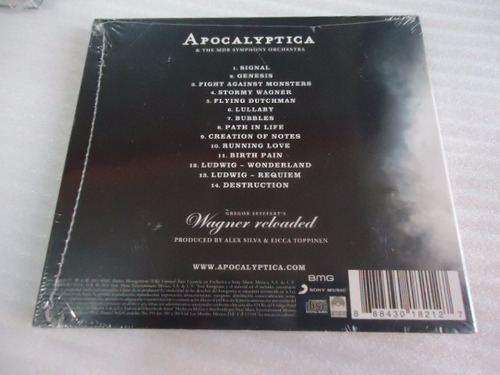 cd apocalyptica wagner reloaded live