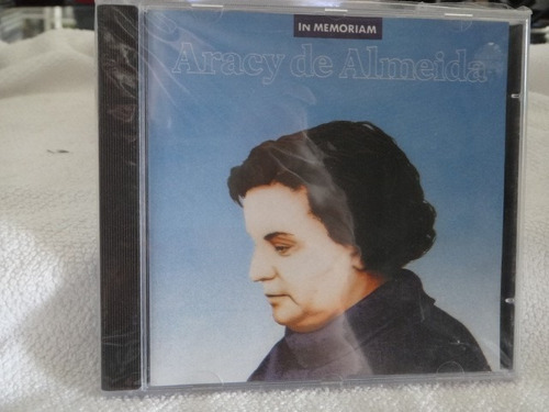 cd - aracy de almeida - in memorian - raro