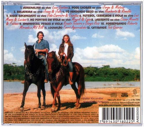 cd araguaia sertanejo trilha sonora 2010 'original'