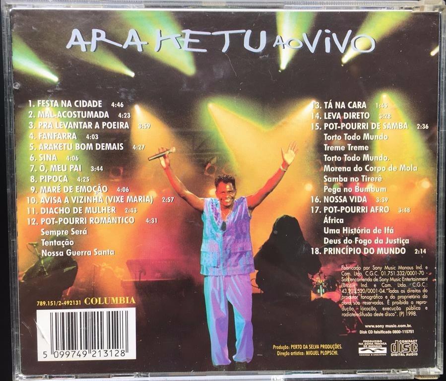 araketu ao vivo 1998