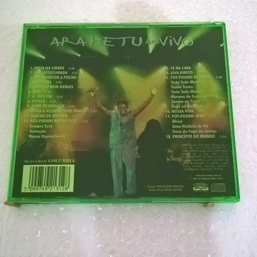 cd - araketu ao vivo